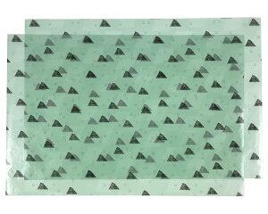 水縞色柄グラシン包装紙