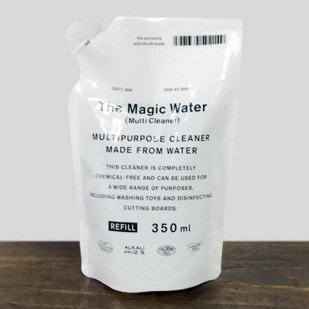 ザ・マジックウォ−ター マルチクリーナー 詰替用 350ml THE The Magic Water Multi Cleaner 詰替用 350ml【アルカリ電解水 汚れ落とし 大掃除 エコ洗剤】