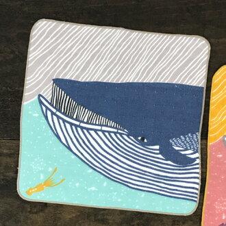 在超過2張DM班、yuu郵件KATAKATA fuwafuwa毛巾長須鯨