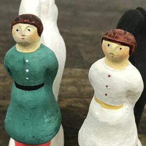 倉敷意匠計画室にしおゆき陶製人形大きなしっぽ