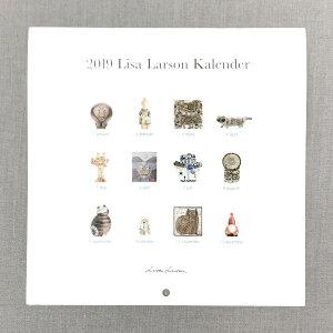 Lisa Larson 2019 セラミックワークス 壁掛けカレンダー