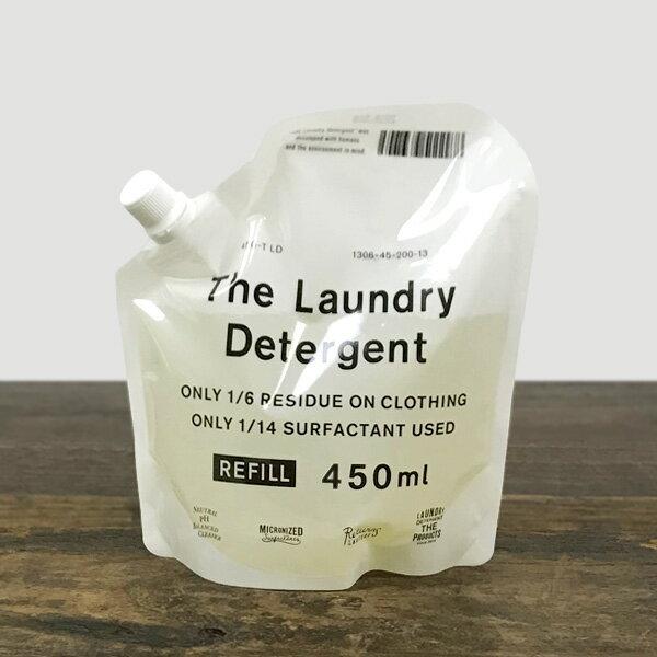 【3個以上で送料無料】 THE 洗濯洗剤 詰替用 450ml【洗濯洗剤(液体) 詰め替え がんこ本舗】