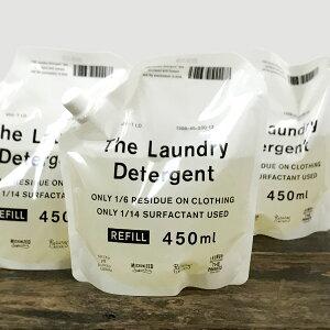 中川政七商店 THE 洗濯洗剤 詰め替え用 450ml 3個セット
