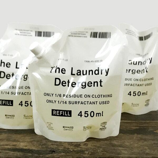 THE 洗濯洗剤 詰替用 450ml 3個セット【沖縄県は送料800円かかります】【洗濯洗剤(液体) 詰め替え がんこ本舗】
