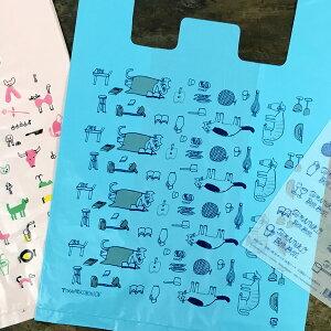 倉敷意匠計画室 トラネコボンボン お使い袋 10枚パック(口留めシール付き)