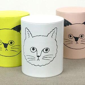 松尾ミユキ コーヒー保存缶 CAT FACE