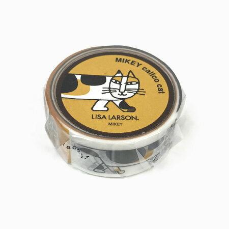 【クーポン配布中】リサラーソン マスキングテープ MIKEY calico cat 20mm【猫 北欧雑貨 グッズ】【クーポンは商品合計金額3800円からご利用可】