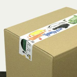 倉敷意匠計画室トラネコボンボンクラフト粘着テープ(Africa)