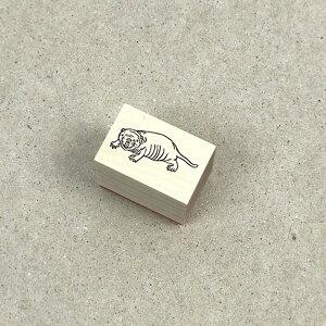 【対象商品3点以上でメール便送料無料】アニマルスタンプハダカデバネズミ【ハンコはんこかわいい】
