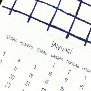 マリアンヌ・ハルバーグ2020カレンダー【日曜始まり北欧雑貨】