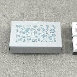 福田利之×水縞 自在ハンコ 図案セット ガーデン