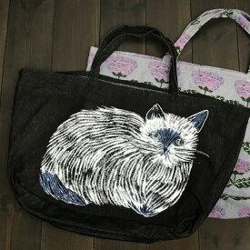 松尾ミユキ マーケットバッグ【猫 雑貨 グッズ】