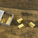 BRASS(ブラス) カードスタンド S 20個入り【おしゃれ 真鍮 ゴールド アンティーク風 ショップカード カード立て プラ…