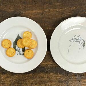 倉敷意匠計画室 トラネコボンボン 丸皿(小)