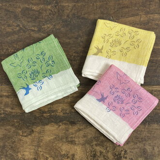 Sei Nakagawa seven store motta032 handkerchief swallow herringbone