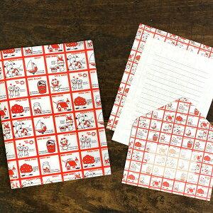 シモジマ レターセット&クリアファイル