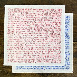 倉敷意匠計画室 mitsou 蚊帳生地7枚合わせふきん Letters