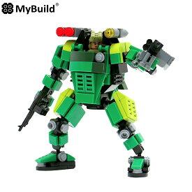 マイビルド(MyBuild) 森林トルーパー MF05-G01 ブロックメカフレーム【EV】【MB01-7】【EVO20-7】【おもちゃ】