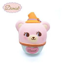 Domiel ハグミー ハロウィンスクイーズ カップケーキ ピンク ほのかに甘い香り付き