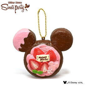 【30%OFF】ディズニー ミッキーデニッシュ スクイーズ ストロベリー Sweets Party