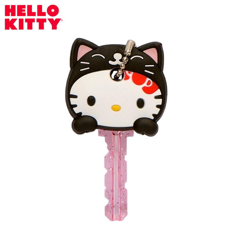 【キティ】のアニマルキーカバー【雑貨 sanrio】【キティちゃん キティー ハローキティ KT】【キーケース キャラクター】【レディース かわいい クロネコ】