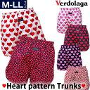 トランクス/ハート柄★M/L/LLメンズ肌着・下着 ギフトにハート柄パンツ【楽ギフ_包装選択】Heart Pattern Trunks boxers underwear
