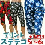プリントステテコ★大きいサイズ/5L6L
