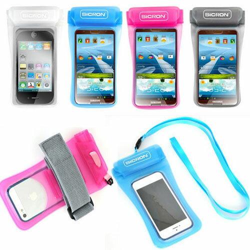 [全機種対応 SICRON 防水パック 5.8インチ ] 【iPhone galaxy】iPhone7 plus iPhone6 iPhone6S Plus ギャラクシー/ランニング スマホ防水ケース スマホ全機種対応【】