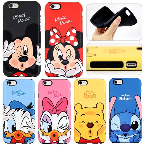 [Disney Chu Silicon Bumper ディズニー チュー シリコン バンパーケース] スマホケース iPhoneX iPhone10 iPhone8 iPhone7 iPhone6s iPhone 6 6s 7 8 Plus X 10 iphone6plus iphone6splus iphone7plus iphone8plus アイフォン アイホン プラス【】