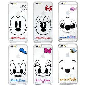 [Disney Clear Hard Case ディズニー クリアケース] iphone5s iPhone6 iPhone6S iPhone6S Plus ケース カバー iPhone6 Plus ケース アイフォン6/Galaxy ギャラクシー s5 ケース SC-04F/SCL2/Galaxy S6 ケース SC-05G ギャラクシーS5カバー ギャラクシーS6ケース カバー【】