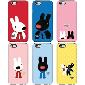 [Gaspard&Lisa double bumper リサとガスパール 二重 バンパーケース] スマホケース iPhoneXS iPhone10s iPhoneX iPhone10 iPhone8 iPhone7 iPhoneSE iPhone6s iPhone5s iphone6plus iphone6splus iphone7plus iphone8plus アイフォン アイホン プラス【】