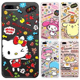 [Sanrio Characters Fruit TPU Clear Jelly サンリオ キャラクターズ フルーツ 透明 ジェリー] Galaxy S9 SC02K SCV38 /S9+ SC03K SCV39 /S8 SC02J SCV36 /S8+ SC03J SCV35 /S7edge SC02H SCV33 ギャラクシー エス ナイン Plus プラス エイト セブン エッジ【】