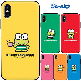 [Kerokerokeroppi Mirror Door Card Bumper けろけろけろっぴ ミラー ドア カード バンパーケース] カード収納 iPhoneXR iPhone10r iPhoneXsMax iPhone10sMax iPhoneXS iPhone10s iPhoneX iPhone10 iPhone8 iPhone7 iphone7plus iphone8plus アイフォン アイホン プラス【】