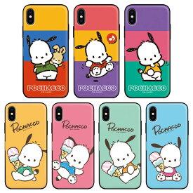 [Pochacco Mirror Door Card Bumper ポチャッコ ミラー ドア カード バンパーケース] スマホケース iPhone 11 11Pro 11ProMax X XS XSMax XR 8 8Plus 7 7Plus Pro Max ProMax iPhoneXR iPhoneXsMax iPhoneXS iPhoneX 10 10s 10sMax 10r Plus プラス アイフォン アイホン【】