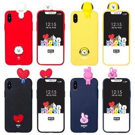[BT21 Mascot Soft マスコット ソフトケース] iPhone 11 11Pro X XS XR SE 第2世代 8 7 Pro 10 10s 10r SE2 アイフォン アイホン イレブン プロ テン エス アル イー ツー エイト セブン フィギュア ビーティーイシビル ビーティーにじゅういち RJ CHIMMY TATA COOKY【】