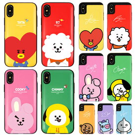 [BT21 Card Bumper カード バンパーケース] スマホケース iPhoneXR iPhone10r iPhoneXS iPhone10s iPhoneX iPhone10 iPhone8 iPhone7 iPhone 7 8 Plus X 10 XS 10s XR 10r iphone7plus iphone8plus アイフォン アイホン プラス ビーティーにじゅういち【】