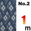 【い草・敷物・茣蓙】上敷の補修テープ(補修縁)No.2のへり