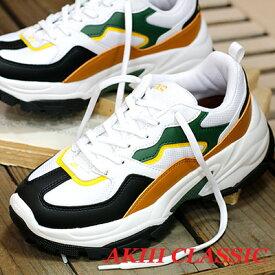 【★オリジナルエコバッグオマケ付★】 【あす楽】【 日本正規取扱店 】 AKIII CLASSIC sneaker スニーカー AKIII LAYER BLACK/BROWN アキクラシック スニーカー 靴 レディース shoes