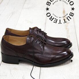 【 セール sale 】 BUTTERO 靴 レースアップ シューズ B4840DDICB VINO433 ブラウン レザー ブッテロ レディース