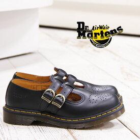 【あす楽】 【 国内正規品 】 Dr.Martens CORE 8065 MARY JANE 12916001 ドクターマーチン レディース メリージェーン ストラップ シューズ ブラック 靴 【 マーチン 8ホール 3ホール に並ぶ人気】
