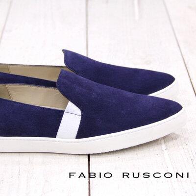 【 sale セール 】 FABIO RUSCONI 2461 ファビオ ルスコーニ フラットシューズ スリッポン ポインテッド 【 ファビオルスコーニ 】