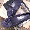 【 セール sale 】 FABIO RUSCONI パンプス REA ファビオ ルスコーニ フラットシューズ スリッポン メッシュ 【 ファビオルスコーニ 】