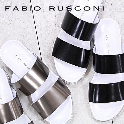 【 sale セール 】 FABIO RUSCONI サンダル sandal 2500 ファビオ ルスコーニ フラットシューズ 【 ファビオルスコーニ 】