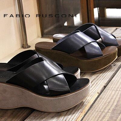 【 sale セール 】 FABIO RUSCONI サンダル DORA318 ファビオ ルスコーニ ウェッジ sandal 【 ファビオルスコーニ 】