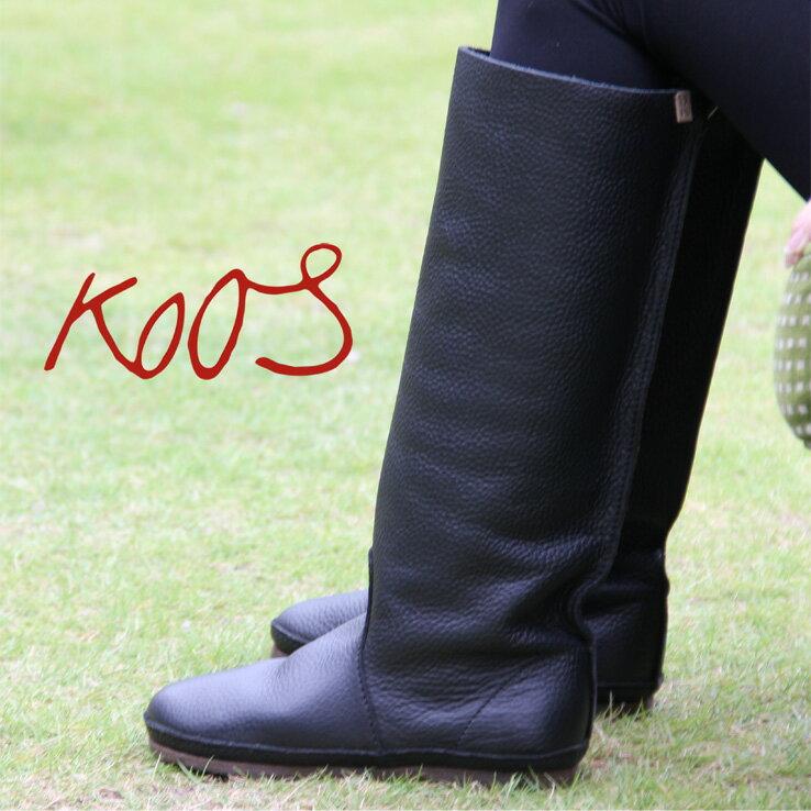 10/27再入荷 正規品 KOOS ルーカス ブーツ boots コース ロングブーツ LUCAS LFG BLACK