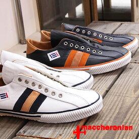 【あす楽】 【 期間限定特別価格 】 maccheronian 靴 2257L マカロニアン スリッポン メンズ レディース sneaker スリッポン レザー