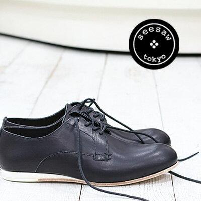 seesaw by marchercher SW,10043 BLK シーソー バイ マーシェルシェ メンズ 靴 ブラック
