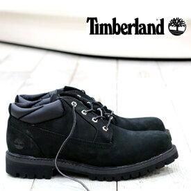 【 セール sale 】【 日本正規取扱店 】 ティンバーランド メンズ ブーツ クラシックオックスフォード TB073537 ブラック Timberland CLASSIC OX BLACK NB MENS BOOTS 靴
