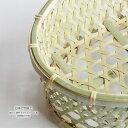 【日本の竹細工】椀かご 楕円 大サイズ 3〜4人用 底補強力竹有