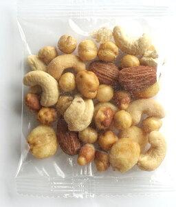 ミックスナッツ 小分け 塩味 贅沢5種 30gx36袋 赤穂の焼き塩でまろやか仕立て アーモンド カシューナッツ クルミ